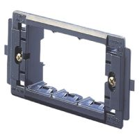 3 GANG SUPPORT FOR SYSTEM PLATE