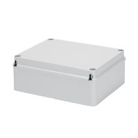 Gewiss GW44208 - CAJA DERIV. PARED LISA IP56 240X190X90