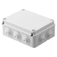 Gewiss GW44007 - JUNCTION BOX+GLANDS 190X140X70 IP55