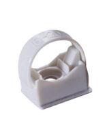 Collare di fissaggio grigio per tubi da  32 a 63 mm
