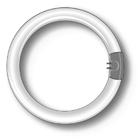 Duralamp 3284t tubo fluorescente circolare g10q 32w for Tubo fluorescente circular 32w