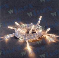 BatteryLED - milleluci natalizie 40 LED bianco caldo a batteria