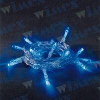 BatteryLED - milleluci natalizie 40 LED blu a batteria