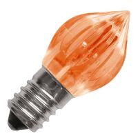 Lampada led arancio E14 0.5W 24V votive