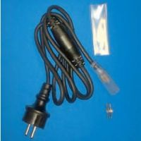 LED orizzontale - cavo di alimentazione in gomma per tubo luminoso orizzontale