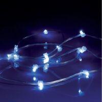 LEDRoll FLASH - striscia trasparente 240 led blu + 60 flash