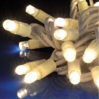 FLASH LED - stringa prolungabile 100 led bianchi + 20 flash