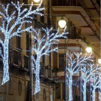 LED - stringa prolungabile 120 led bianco caldo