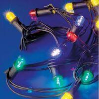 LineaLED - festone prolungabile 20 lampade led bianco caldo