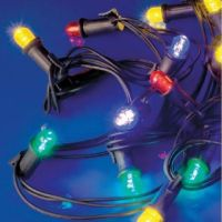 LineaLED - festone prolungabile 20 lampade led blu