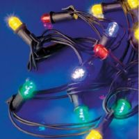 LineaLED - festone prolungabile 20 lampade led multicolor