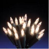 LED - catenaria a pisello 50 led bianco 5 mt
