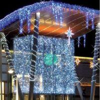 Flash LED - tenda led prolungabile 2 x 1.5 mt bianco