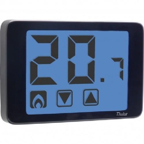 Vemer ve433900 termostato digitale da parete nero thalos for Termostato vemer istruzioni