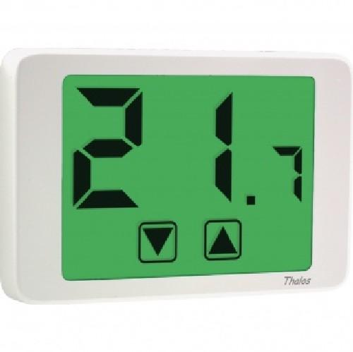 Vemer ve434700 termostato digitale da parete bianco for Termostato ambiente vemer