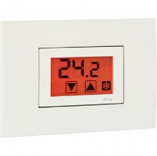 Vemer ve459400 termostato da incasso bianco aros 230 for Termostato ambiente vemer