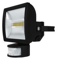 Proiettore LED 10W con sensore di movimento theLeda E10 BK