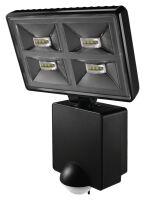 Proiettore LED 32W con sensore di movimento nero Luxa