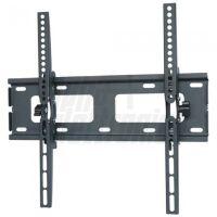 Supporto a muro fisso basso per TV LED LCD 23-55 nero