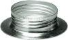 Anello fermaparalume metallo E14 zincato bianco