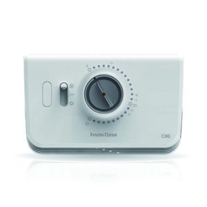 Fantini cosmi c60 termostato ambiente da parete bianco c60 for Termostato ambiente vemer