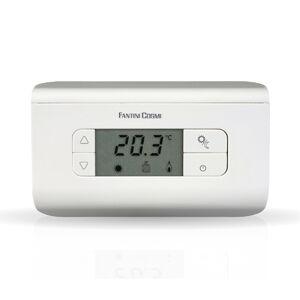 Fantini cosmi ch115 termostato digitale da parete bianco for Termostato ambiente vemer