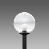 Lampione sferico 1350 Ø260 trasparente