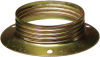 Anello fermaparalume metallo E27 zincato giallo