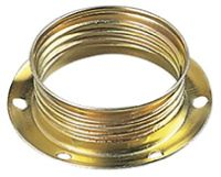 Shade-holder ring for E14 brass lamphld