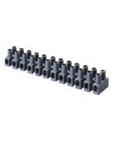 PLASTIC TERMINAL BLOCK 12 POLE 2.5 MM2