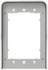 Cornice parapioggia 1 modulo Pixel grigio
