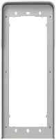 Cornice parapioggia 2 moduli Pixel grigio