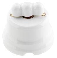 Tonda - pulsante rotativo in porcellana