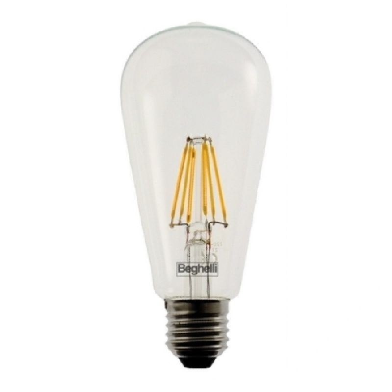 Lampada led decorativa E27 06W 230V 2700k ZafiroLED