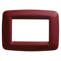 PLAYBUS YOUNG 3 GANG CLAS.BURGUNDY PLATE