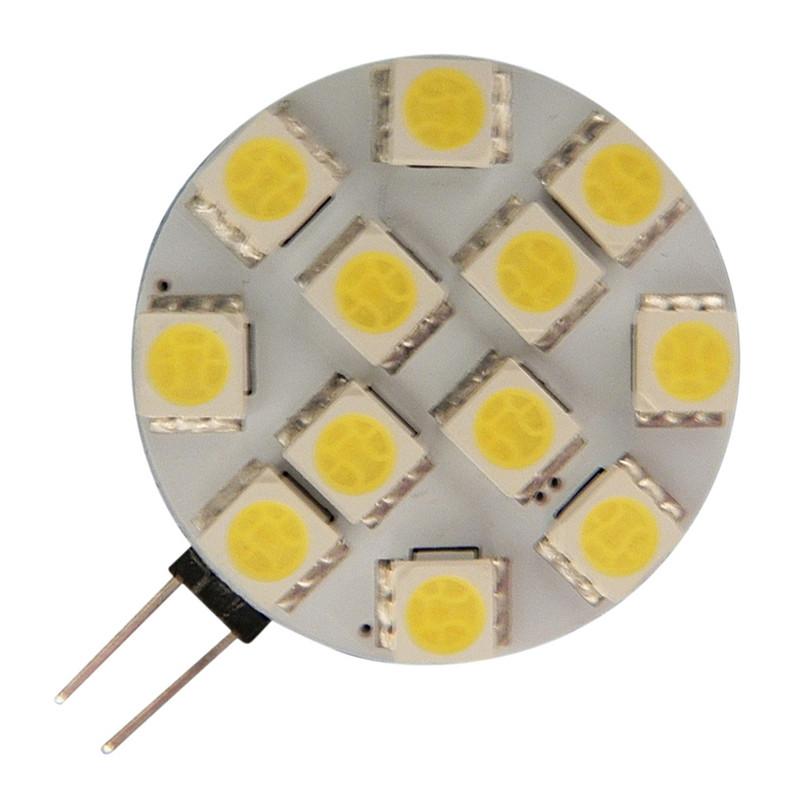 Arteleta gu4 ww lampada led g4 3w 12v 3000k piatta for Lampade lunghe a led