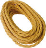 Cavo a treccia in cotone oro 4G1.50 - 25mt