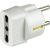S11 adaptor +P30 outlet white