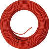 Cavo H03 3G0.75 rivestito in seta rosso - 100mt