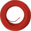 Cavo H03 3G0.75 rivestito in seta rosso - 010mt