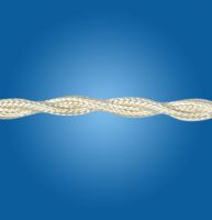 Silk ivory twisted cable mm 3G1.75